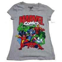 Remeras Marvel Originales Mujer Talles S L Importadas Nuevas