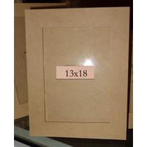Portarretratos X10 Foto 13x18. Fibrofacil Vidrio