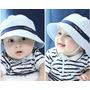 Chapéu Bebê Proteção Solar Uv Sol Protetor Bonê Praia Sunga