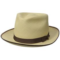 Stetson De Los Hombres Brewster Panamá Sombrero De Paja