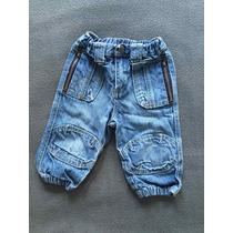 Pantalón Jean Para Bebe Niño Marca Zara