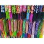 Kit 100 Pulseiras Em Tecido Coloridas, Lisas E Times Atacado