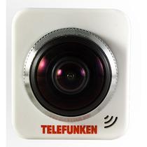 Telefunken Camara Vr 360 Singlelens Wifi Watproof Tlf- Ac360