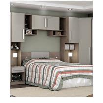 Dormitório De Casal Ou Solteiro 5 Peças Incorplac