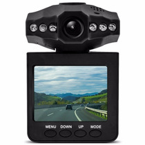 Camera Carro Hd Dvr Portatil Tft Lcd 6 Leds Infravermelhos