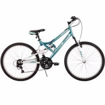 Bicicleta Mujer 26 Pulgadas Huffy Trail Runner Mountain, Azu