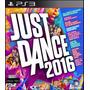 Just Dance 2016 Ps3 Juego Fisico Sellado