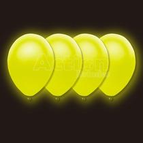 Balão Bexiga De Neon Amarelo Nº10 - Com 30 Unidades