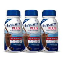 Ensure Plus Licuado Nutritivo Rico Chocolate Oscuro 8 Fl Oz