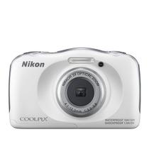 Camara Nikon Coolpix S33 13mp Resistente A Golpes Y Al Agua