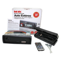 Auto Estéreo Caratula Desplegable Fm Sd Usb Mp3 Wma Aux In