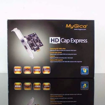 Placa De Captura Gamer 1080i Hd Pci-express Mygica Streaming