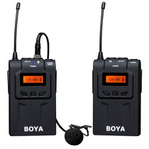 Microfone Lapela Sem Fio Boya By-wm6 - Uhf - Temos Loja