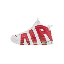 Nike Air More Uptempo Scottie Pippen Talla 6.5 Us 8.5 Rojo