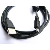 Cabo Usb 8p Para Sony Dsc-w180 W190 W310 W320 W330 W370 W510