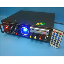 Amplificador Av339fm 95w Rms 110v + Controle Remoto Mp3