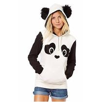 Moletom Panda Com Capuz Pulôver . ( Plush)