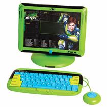 Laptop Infantil Maxsteel Trilingue 84