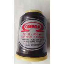 Hilo Omega Nylon Del No. 8 1 Paq Con 12 Carretes De 450 Mts