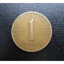 Austria 1 Shilling Año 1966