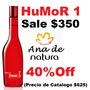 Perfume Natura Humor 1 - Rojo