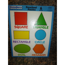 Rompecabezas De Figuras Geometricas