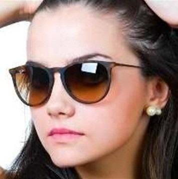 Oculos Erika Rb 4171 Marrom Lente Degrade - Frete Gratis - R  54,90 em  Mercado Livre 4cac548c7b