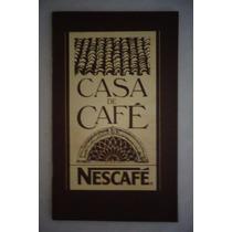 Nescafé Receitas Casa Café Livreto Propaganda Antiga