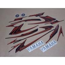 Kit Adesivos Yamaha Xtz 125x 2009 Preto Frete Gratis