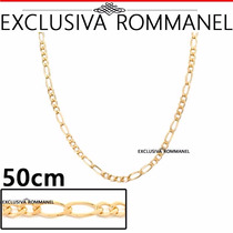 Rommanel Corrente Cordao Masculino Alternado 4x2 50cm 530102