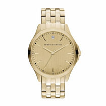 Reloj Armani Exchange Mod. Ax2167 Dorado Serie Diamante