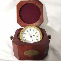 Hermoso Reloj Selco Barco Marinero Made In France Vintage