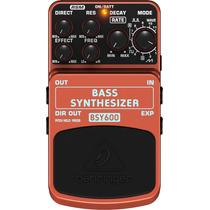 Behringer : Bsy600 : Pedal Sintetizador Para Baixo