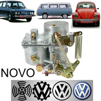 Carburador Novo Fusca Kombi 1500 E 1600 30pic Solex Simples
