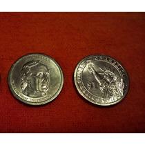Moneda Usa Pte John Tyler Un Dolar 2009 P