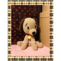 Perro Crochet Amigurumi Tejido A Mano