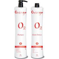 Progressiva Sem Formol Orange Selante Térmico 1l