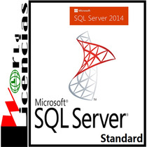 Sql Server 2014 Standard Para Windows Server