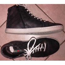 Zapatillas Botitas Febo T39- Como Nuevas!! Cuero,leer Aviso
