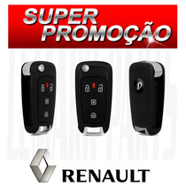 Chave Canivete Alarme Positron Px80 P/ Renault Show