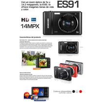 Cámara Samsung Es91 14.2 Mp Full Hd