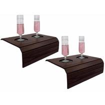 Esteira Bandeja Porta Copo Flexível Sofa Luxo