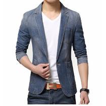 Blazer Masculino Jeans Moderno Pronta Entrega !!