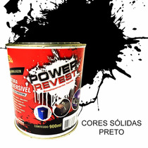 Envelopamento Líquido Preto Fosco Lata 900ml Power Revest