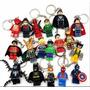 Herois Batman Vingadores Esquadrão Compativel Lego Chaveiro