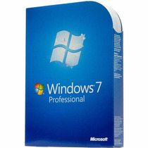 Windows 7 Professional 32/64 Bits C/ Mídia Fpp Ingles