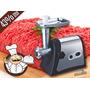 Practico Picador Moledor Carne Eléctrico,acero Inoxidable