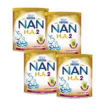 4 Latas Ha 2 Nan 800g (lata) - Total 3.2 Kgs