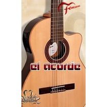 Guitarra Electrocriolla Fonseca 41kec - El Acorde Pacheco