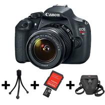 Camera Canon Eos T5 +lente 18-55mm +nf+garantia Canon Brasil